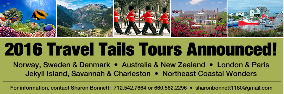 2016 Travel Tails Tours Announced!