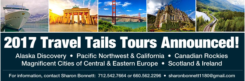 2017 Travel Tails Tours Announced!