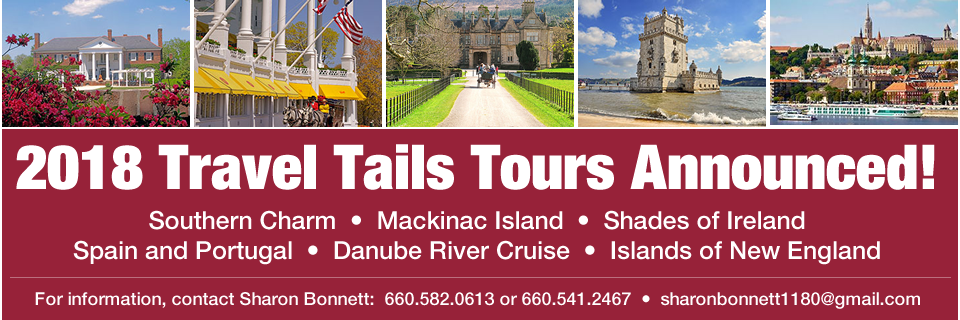 2018 Travel Tails Tours Announced!